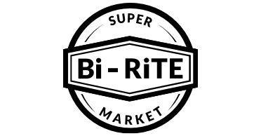 A theme footer logo of Stokesdale Bi-Rite